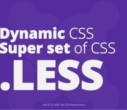 using-less-the-css